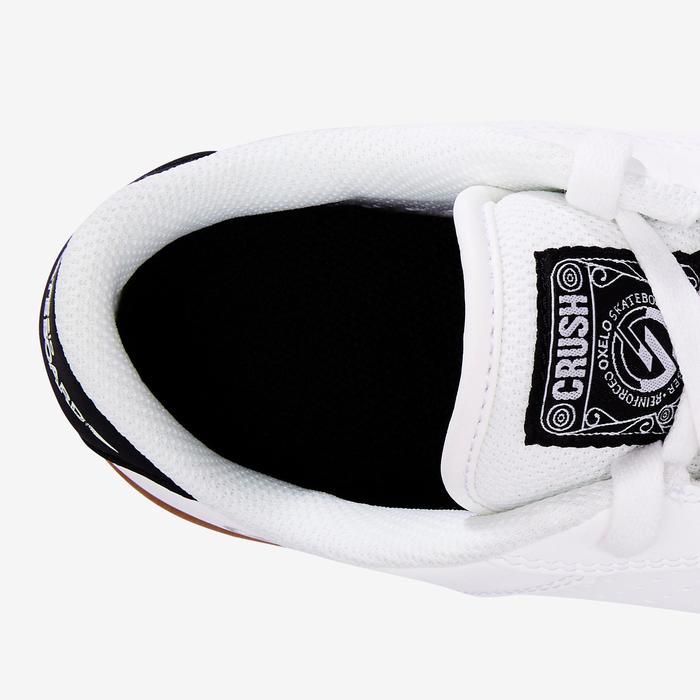Chaussure de skate enfant CRUSH BEGINNER noire verte - 1420336