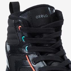 100 JR Quad Roller Skates - Black