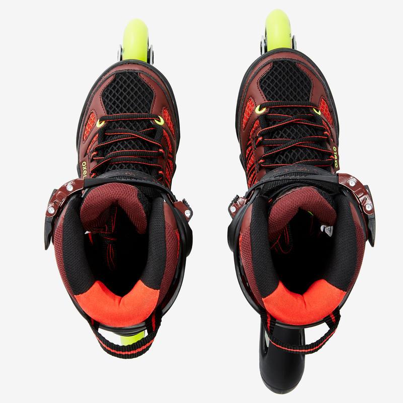 Fit 5 Junior Kids' Fitness Inline Skates - Red/Black