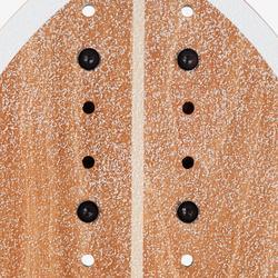 Tabla Longboard OXELO CARVE 540 BIRD Adulto Marrón/Negro