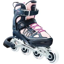 Fit 5 Jr Kids' Inline Fitness Skates - Blue/Pink
