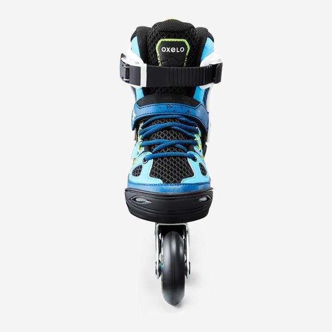Fit 5 Jr Kids' Inline Fitness Skates - Blue / White