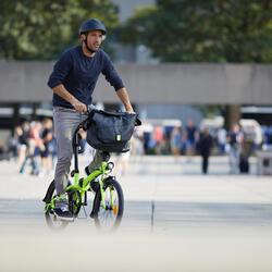 Vouwfiets TILT 500 geel - folding bike