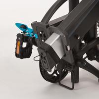 Electric Assisted Folding Bike Tilt 500 - Black