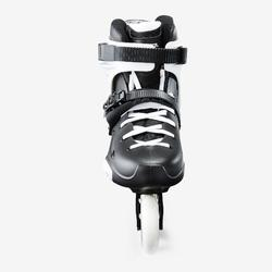 Inline-Skates Inliner Freeride Imperial One Dual Fit Erwachsene schwarz/weiß