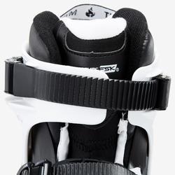 Freerideskates voor volwassenen Imperial One Dual Fit zwart wit