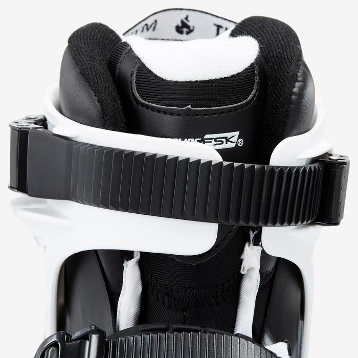 Inlineskates Inliner Freeride Imperial One Dual Fit Erwachsene schwarz/weiß