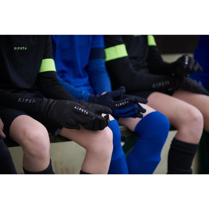Keepershandschoenen kinderen Keepdry 500 zwart