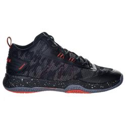 SC500 Adult Mid Basketball Shoes For Intermediate Players - Black/Red
