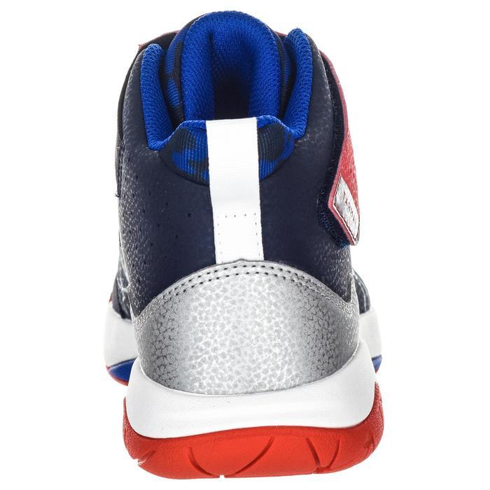 Basketbalschoenen voor gevorderde meisjes blauw/rood Spider Lace