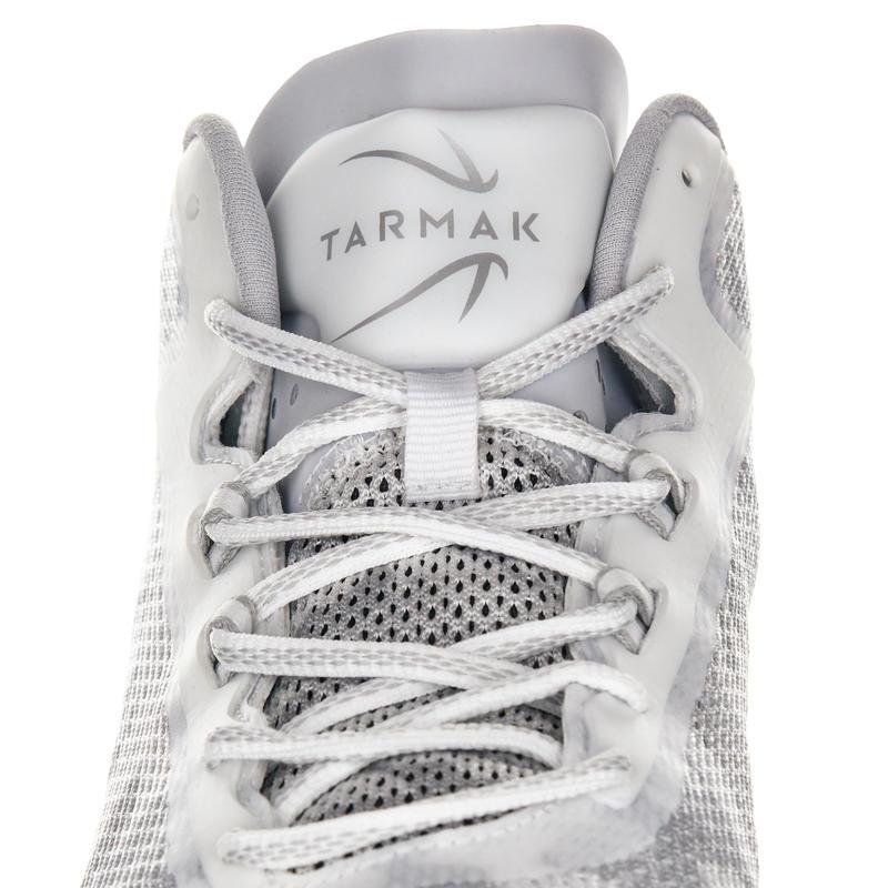 Giày cổ lửng chơi bóng rổ SC500 cho người lớn ở cấp độ trung bình - Trắng