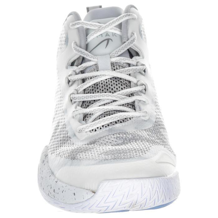 Basketbalschoenen voor heren SC500 halfhoog wit