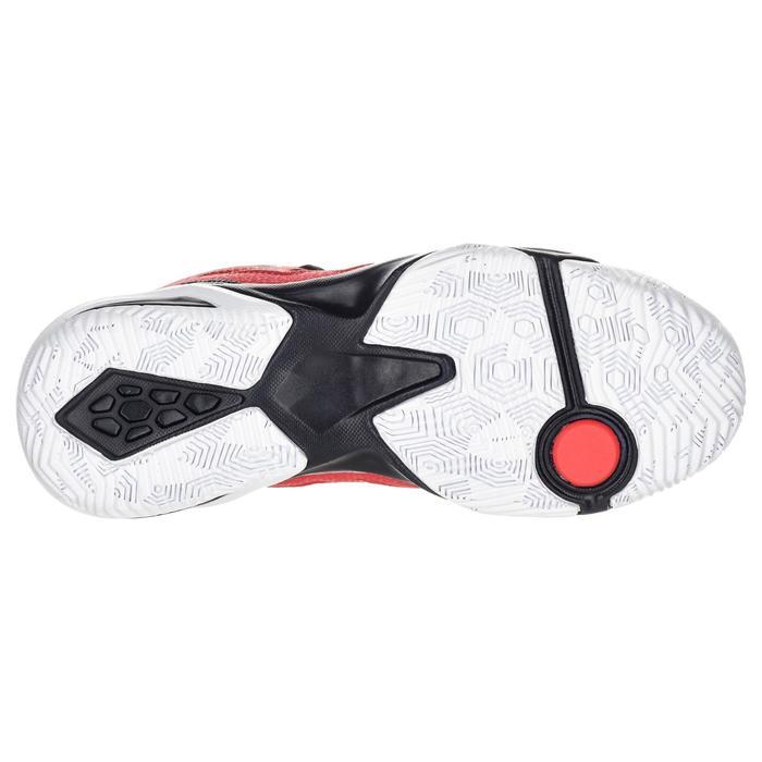 Basketballschuhe Shield 300 Fortgeschrittene Jungen/Mädchen rot/schwarz