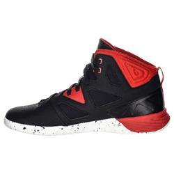 Basketbalschoenen Shield 300 zwart/wit/rood