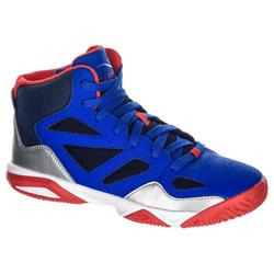 Basketballschuhe Shield 300 Kinder blau/rot