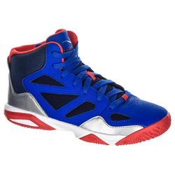 Basketbalschoenen Shield 300 jongens/meisjes halfgevorderden blauw rood