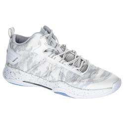 CHAUSSURES DE BASKETBALL HOMME SC500 MID BLANC