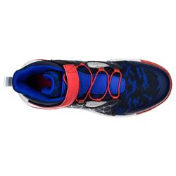 Basketballschuhe Spider Lace 500 Jungen/Mädchen Fortgeschrittene blau/rot