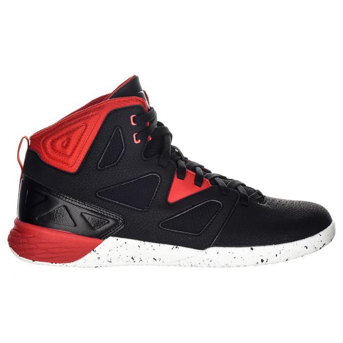 Basketbalschoenen voor beginners Shield 300 zwart/wit/rood