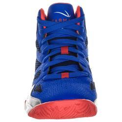 Basketballschuhe Shield 300 Kinder blau/rot