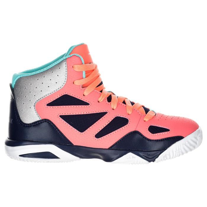 Basketballschuhe Shield 300 Jungen/Mädchen Fortgeschrittene rosa/blau