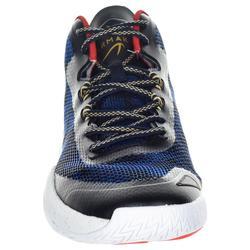 Basketbalschoenen SC500 mid blauw/rood/goud (heren)