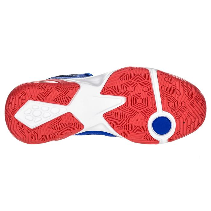 Zapatilla Baloncesto Tarmaka Shield 300 Niños Azul Rojo
