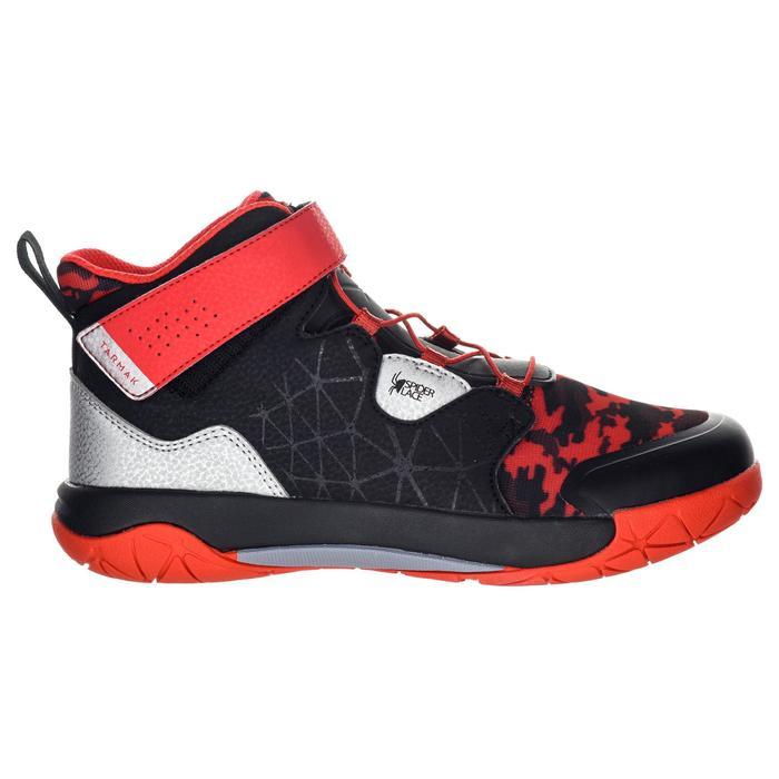 Basketbalschoenen voor gevorderde meisjes zwart/rood Spider Lace