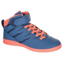 SE100 Kids' Basketball Shoes For Beginner Players - Blue/Pink