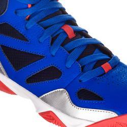 Basketballschuhe Shield 300 Jungen/Mädchen Fortgeschrittene blau/rot