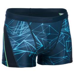 Zwemboxer voor heren 550 Fit All Stel blauw