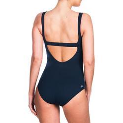 Bañador de natación una pieza para mujer Heva+ Azul