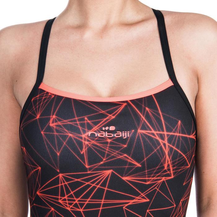 de18a3e100a Bañador Natación Piscina Nabaiji Jade Mujer Forma Espalda X Escotado  Estampado