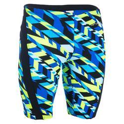 Zwemboxer voor heren jammer 900 First All Diago blauw