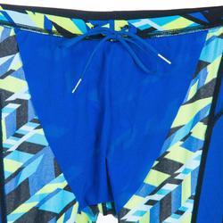 Badehose Jammer 500 First Alldiago Herren blau/gelb