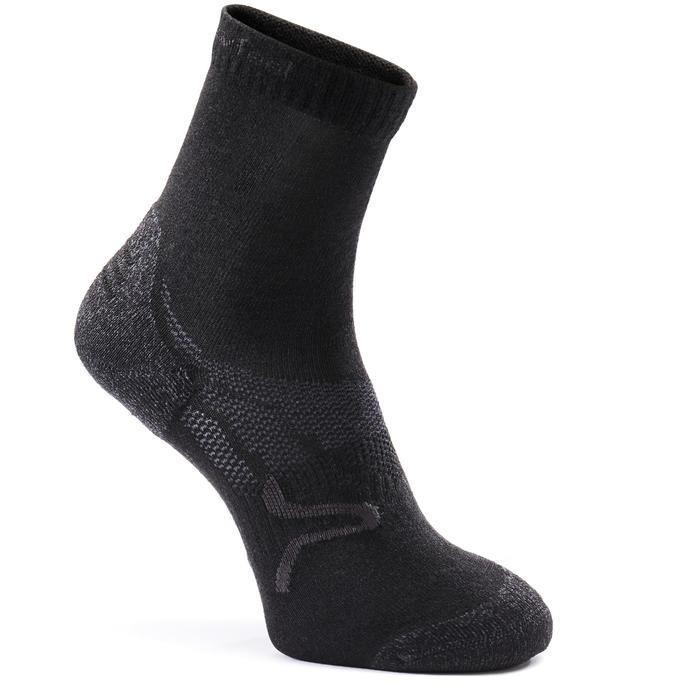 Chaussettes marche sportive/nordique SK 500 Warm noir