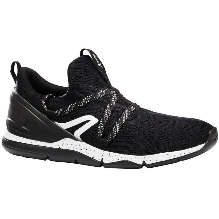 Damessneakers voor sportief wandelen PW 140 zwart