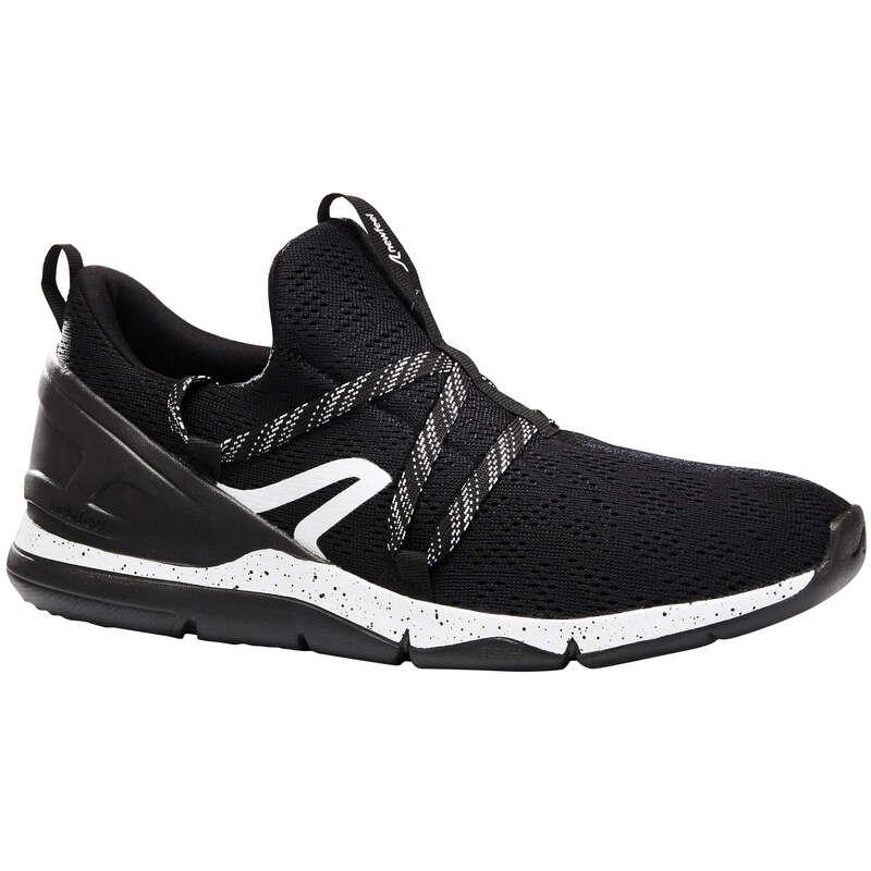 WOMEN SPORT WALKING SHOES Power Walking - PW 140 black/white NEWFEEL - Walking Trainers