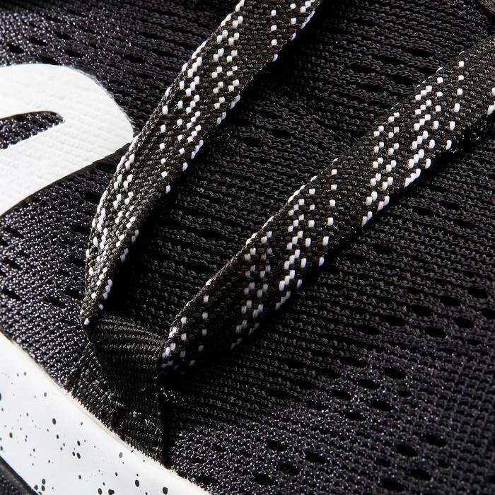 Zapatillas Caminar Newfeel PW 140 Mujer Negro/Blanco
