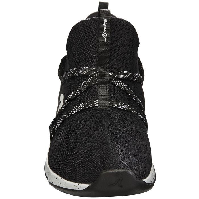 Zapatillas de marcha deportiva para mujer PW 140 negro/ blanco