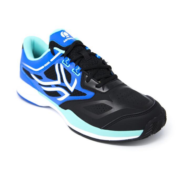 Padelschoenen PS860 voor heren blauw / zwart
