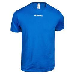 Voetbalshirt F100 voor kinderen blauw