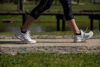 Tenis de caminata deportiva para mujer PW 140 azul / verde