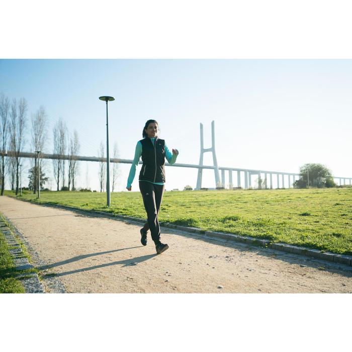 Damessneakers voor sportief wandelen PW 580 waterproof zwart
