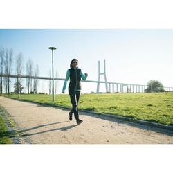 Walkingschuhe wasserdicht PW580 RespiDry Damen schwarz