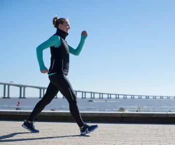 marcher activement rechauffe