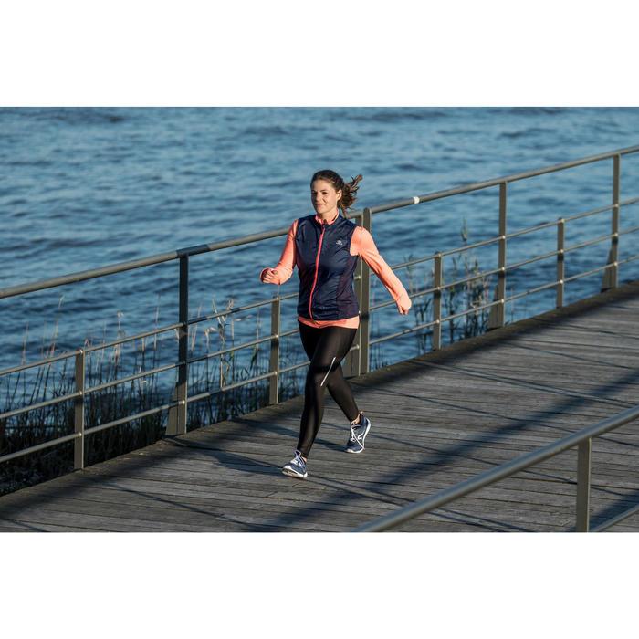 Freizeitschuhe Walking PW580 Damen wasserfest marineblau/rosa