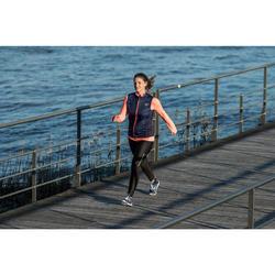 Waterdichte damessneakers voor sportief wandelen PW 580 RespiDry marine / roze