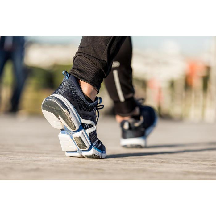 Chaussures marche sportive homme PW 590 Xtense gris / jaune - 1421248