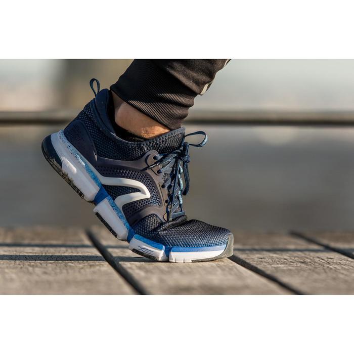 Chaussures marche sportive homme PW 590 Xtense gris / jaune - 1421254
